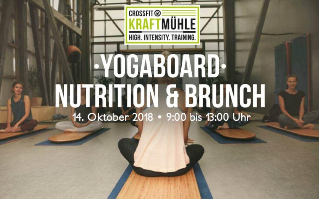 Yogaboard – Nutrition & Brunch